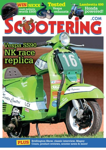 Scootering issue December 2015