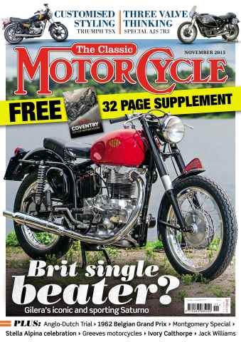 The Classic MotorCycle issue November 2015