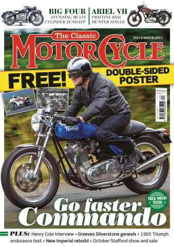 The Classic MotorCycle issue December 2015
