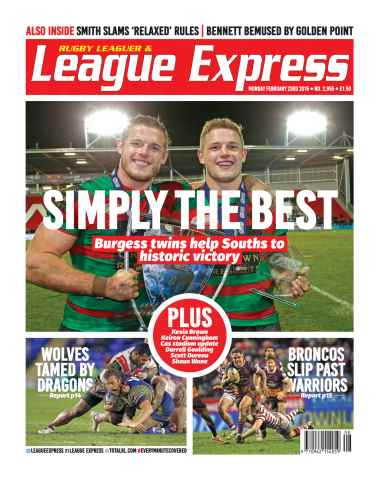 League Express issue 2955