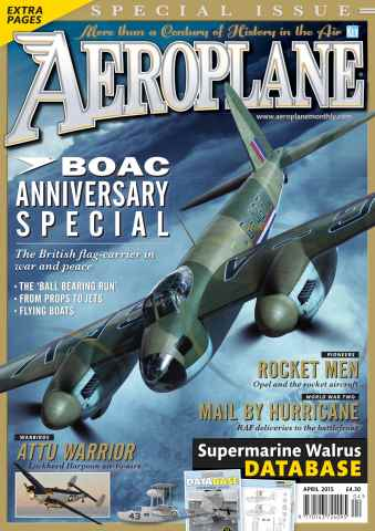 Aeroplane issue April 2015