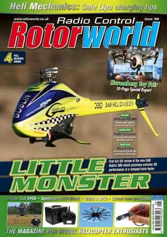 Radio Control Rotor World issue Apr 108