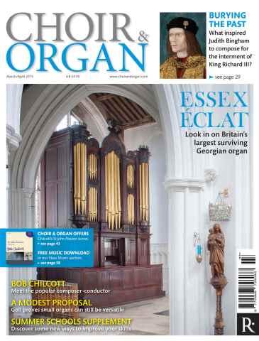 Choir & Organ issue March - April 2015