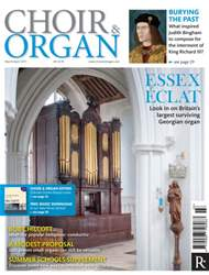 Choir & Organ issue March - April 2015