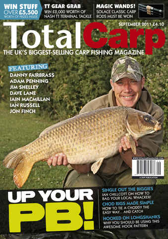 Total Carp issue September 2011