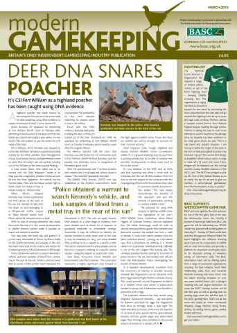 Modern Gamekeeping issue MARCH 2015