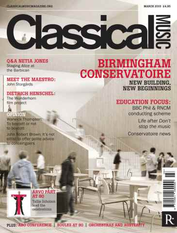Classical Music issue March 2015