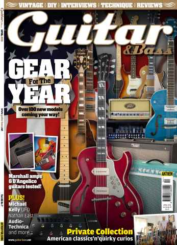 Guitar & Bass Magazine issue Apr-15