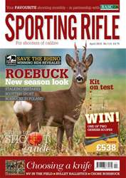 Sporting Rifle issue April 2015