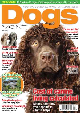 Dogs Monthly issue April 2015