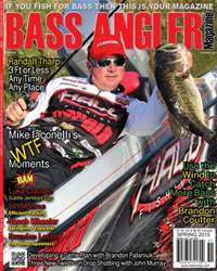 BASS ANGLER MAGAZINE issue Volume 24 Issue 1