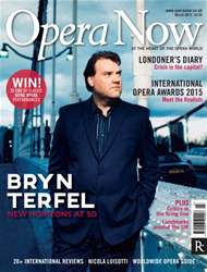 Opera Now issue March 2015
