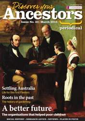Discover Your Ancestors issue March 2015