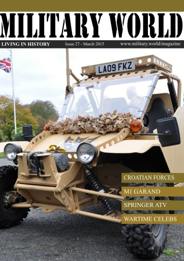 Military World issue Issue 27- March 2015