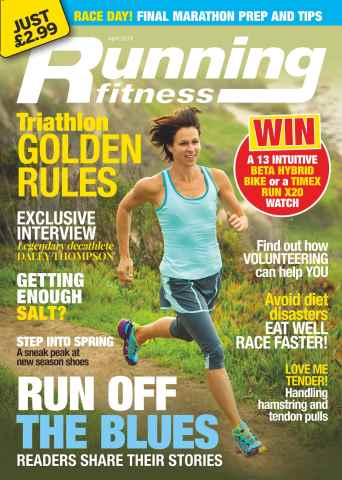 Running Fitness issue No.175 Run Off the Blues