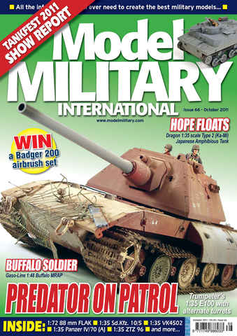 Model Military International issue 66