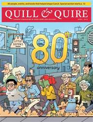 Quill & Quire issue April 2015