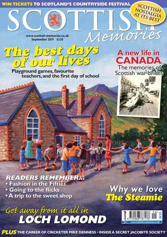 Scottish Memories issue September 2011