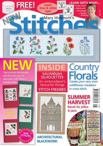 New Stitches issue Issue 221