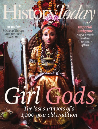 History Today issue April 2015