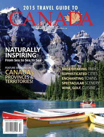 Globelite Travel Guides issue 2015 Travel Guide to Canada