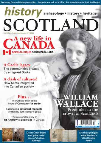 History Scotland issue Sept-Oct 2011
