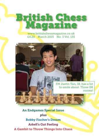 British Chess Magazine issue March 2015
