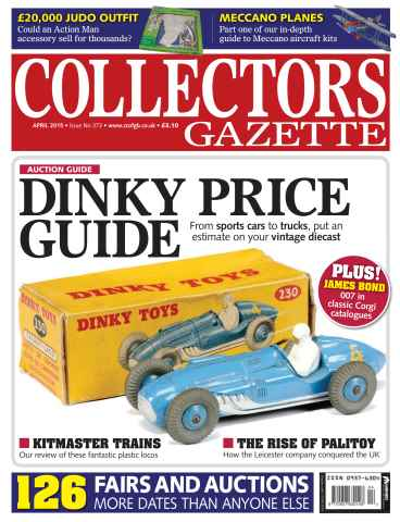 Collectors Gazette issue April 2015