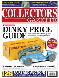 Collectors Gazette issue April 2015