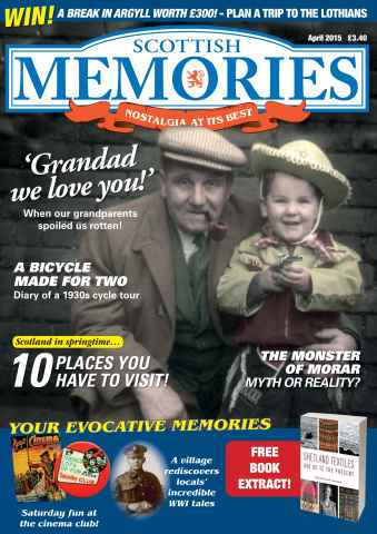 Scottish Memories issue Scottish Memories April 2015