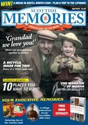 Scottish Memories issue Scottish Memories April 2015