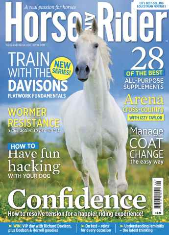 Horse&Rider Magazine - UK equestrian magazine for Horse and Rider issue H&R April 2015