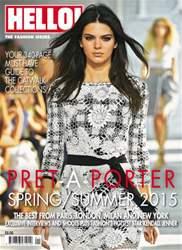 HELLO! PRET-A-PORTER SPRINGSUMMER 2015 issue HELLO! PRET-A-PORTER SPRINGSUMMER 2015