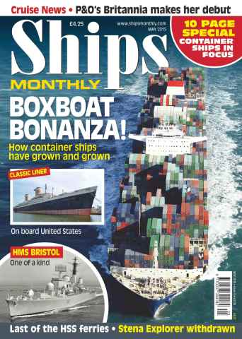 Ships Monthly issue No.605 Boxboat Bonanza!
