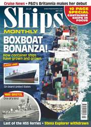 Ships Monthly issue No.605 Boxboat Bonanza!