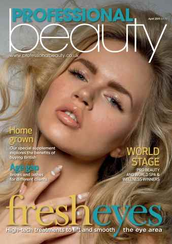 Professional Beauty issue Professional Beauty April 2015