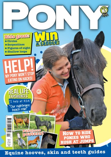 Pony Magazine issue PONY Magazine - April 2015