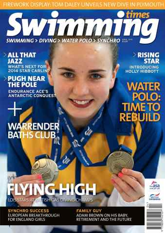 Swimming Times issue April 15