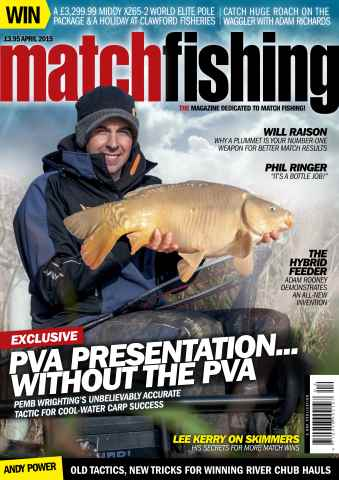 Match Fishing issue April 2015