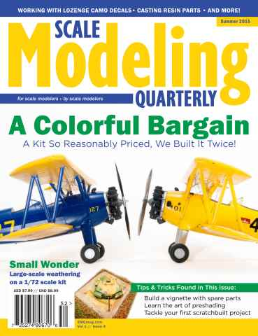 Scale Modeling Quarterly issue Summer 2015