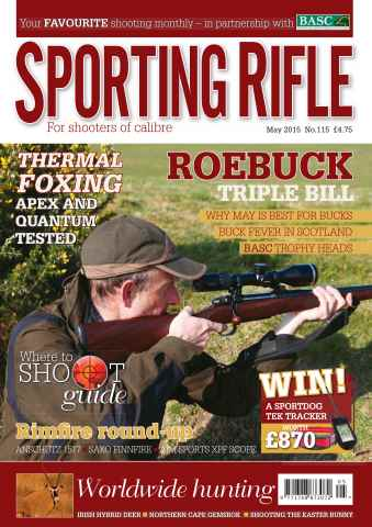 Sporting Rifle issue May 2015
