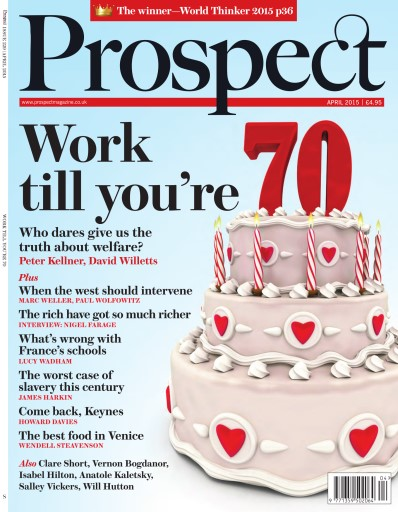 Prospect Magazine issue April 2015