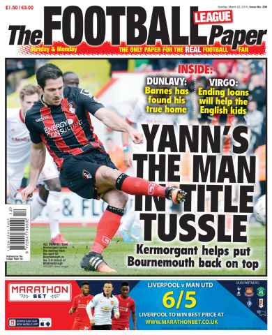 The Football League Paper issue 22nd March 2015