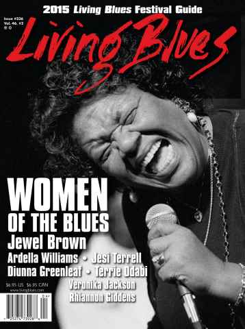 Living Blues issue Living Blues #236