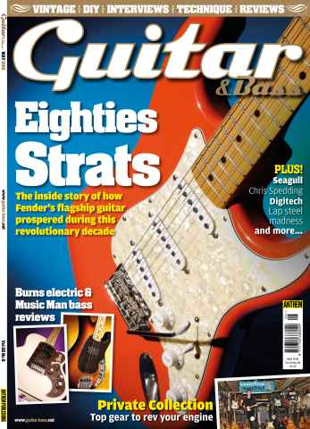 Guitar & Bass Magazine issue May-15