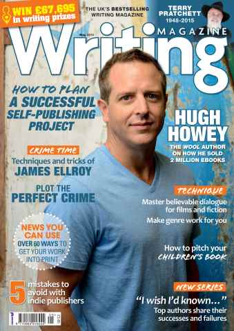 Writing Magazine issue May 2015