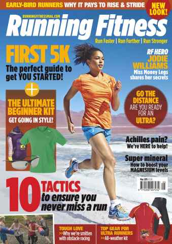 Running Fitness issue No.176 First 5K