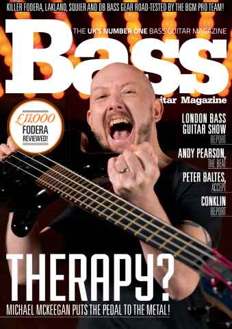 Bass Guitar issue 116 April 2015