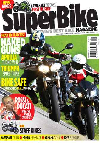 Superbike Magazine issue October 2011