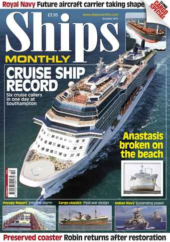 Ships Monthly issue October 2011